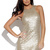 Gold Party Dress - Gold Sequin Sleeveless Bodycon Mini | UsTrendy