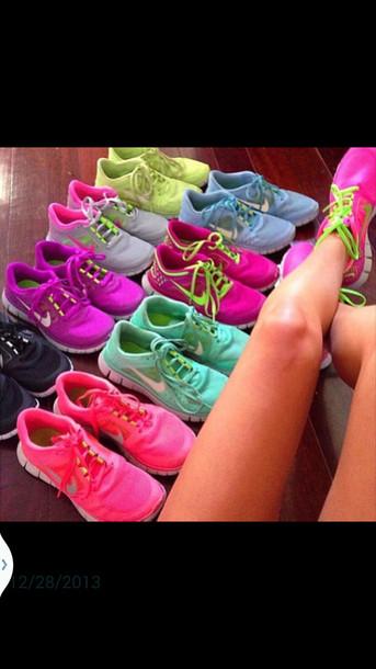 fa1372ed8a9f3 shoes nike free run nike sneakers nike running shoes nike nike shoes  tiffany blue nikes nike