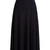 High-rise ribbed-knit midi skirt