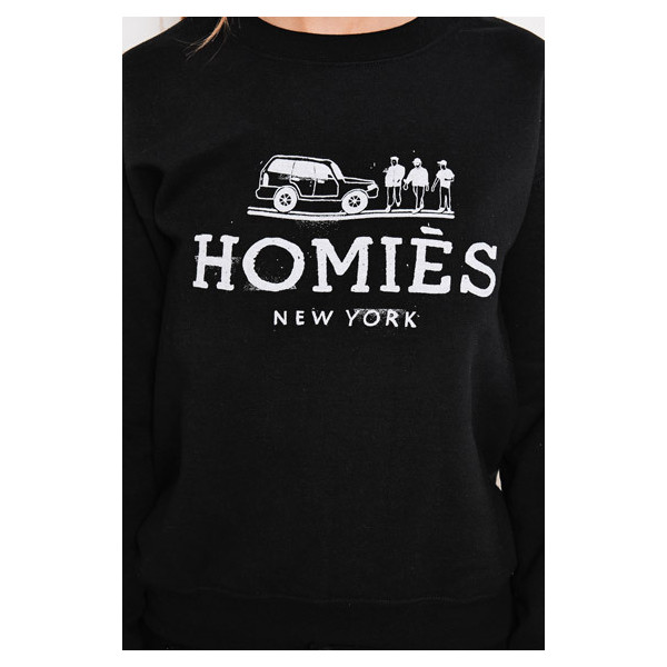Reason Homies Sweatshirt in Black - Polyvore