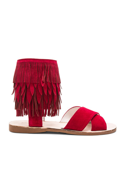 Jeffrey Campbell Nerida Sandals in red