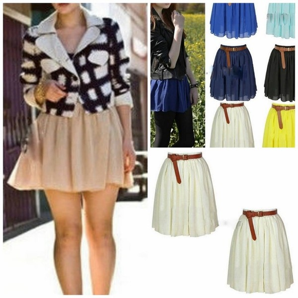 skirt belt mini skirt