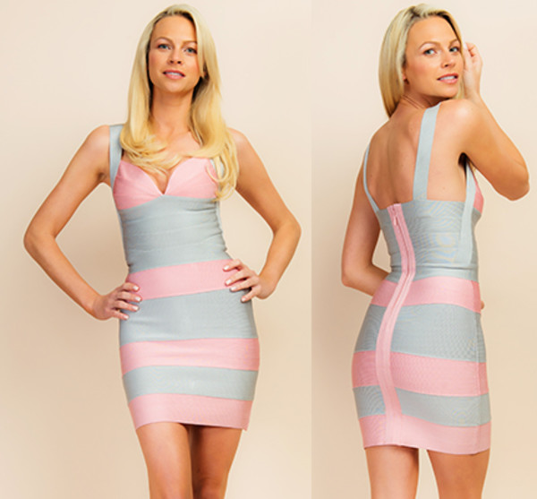 myannika bandage dress celebrity style club dress vegas dress clubwear celebrity style steal pink dress