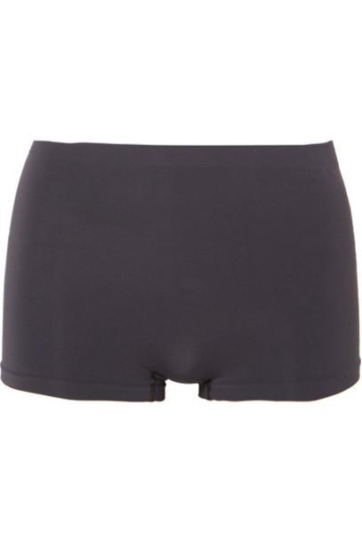 Hanro shorts charcoal