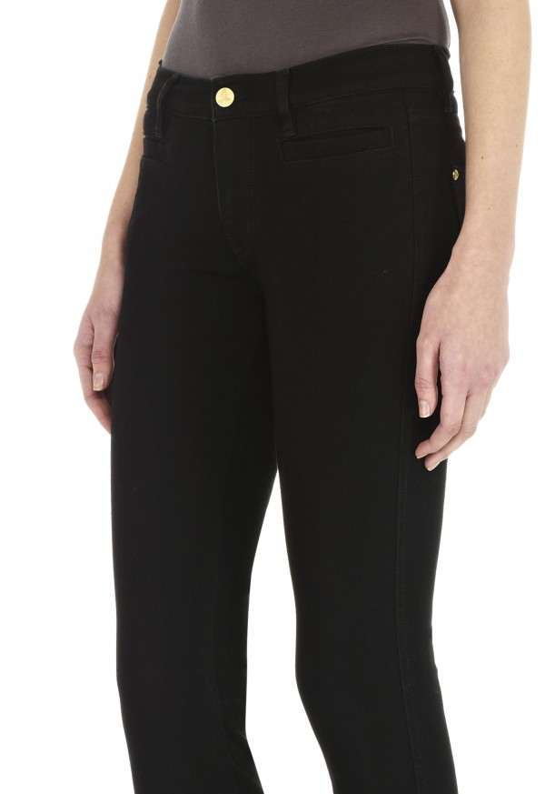 The PARIS Jean - MID RISE, CROPPED SLIM LEG - Black - MiH Jeans