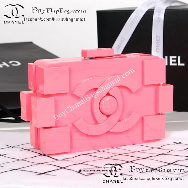 Chanel Bags on sale Lego Clutch A52249 Pink