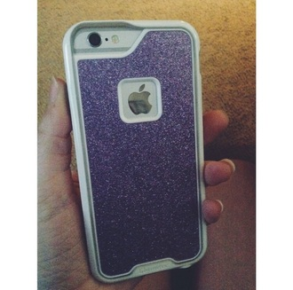phone cover purple green blue iphone iphone case glitter sparkle iphone 6 case iphone cover iphone 6 glitter case