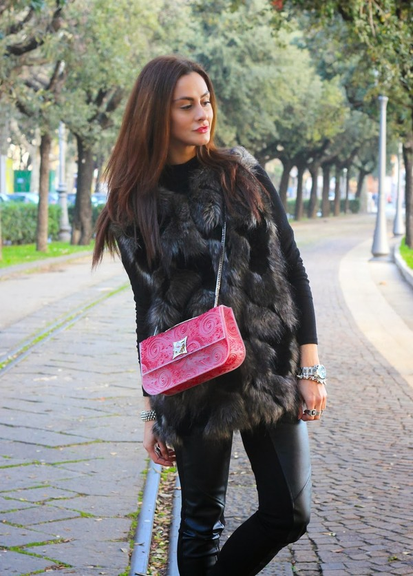 jacket fur vest bellevior.com
