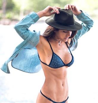 swimwear dbrie swim bikini bikini top bralette reversible velvet blue royal blue