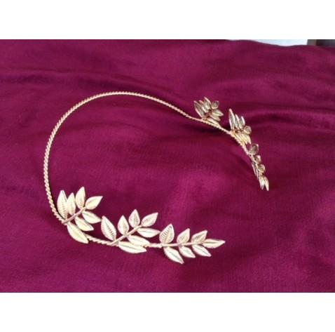 Olive leaves tiara, greek goddess inspired headpiece
