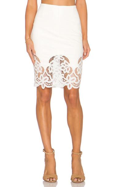 Bailey 44 skirt white