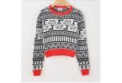 sweater,fashion,shirt,tribal pattern,mickey mouse,mickey mousr,hoodie,red,black,white,print,nice,beautiful