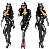 jumpsuit,amazing black catsuit,black,catsuit black,sexy,sexy catsuit,gorgeous jumpsuit