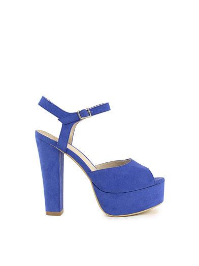 Plain Platform Sandal - Nly Shoes - Lila/Blå - Festskor - Skor - Kvinna - Nelly.com