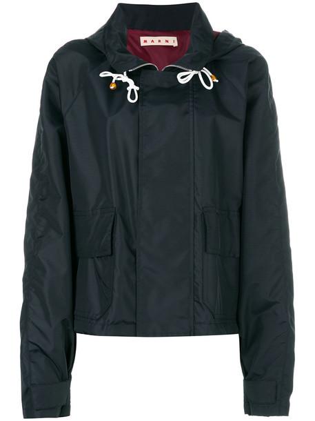 MARNI jacket zip women black