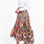 Peter Pilotto Women`s Print Cotton Skirt