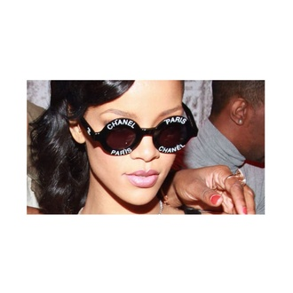 sunglasses rihanna chanel round sunglasses paris