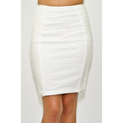 Shredded Pencil Skirt