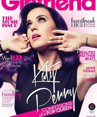 katy perry magazine girlfriend editorial