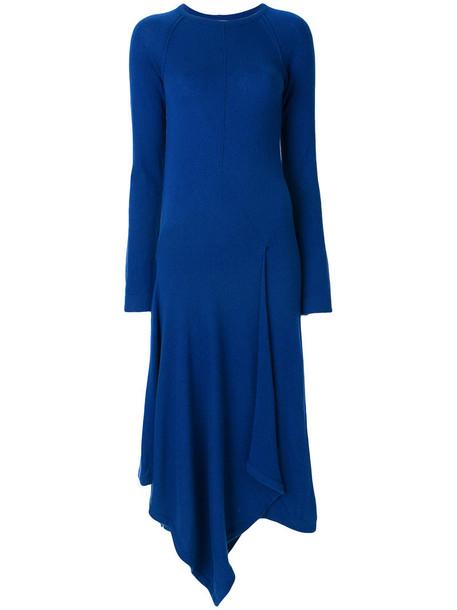 dress women blue purple pink