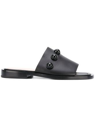 studded women sandals studded sandals leather black shoes