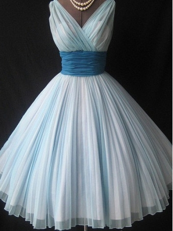 Charming Sweetheart Vintage Chiffon prom dress/homecoming dress [B0013] - $168.00 : 24inshop