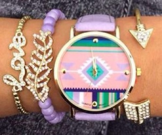 jewels white green pink blue cute watch love purple gold sequins trendy hipster jewelry leo muster glitter perlen zick zack armband!*-*' armbanduhr