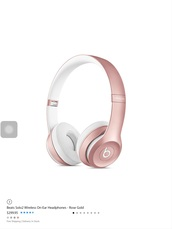 hair accessory,rosegold beats . walmart $$249.99 apple store $299.95 ebay $215.00