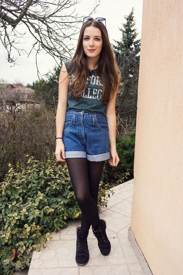 iemmafashion t-shirt shoes shorts jewels sunglasses