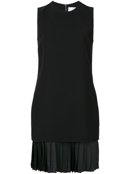 Victoria Victoria Beckham dress shift dress pleated women black