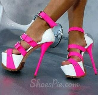 shoes stilettos pink pink shoes pink heels pink high heels white white heels white high heels white shoes white stilettos
