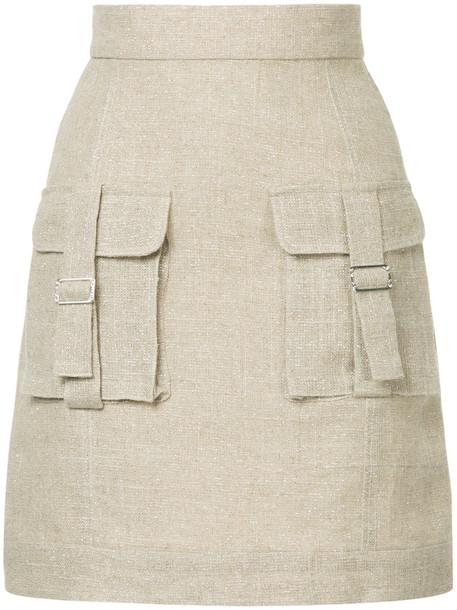 Bambah skirt sparkle women brown
