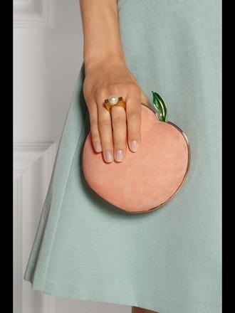 bag purse clutch pink