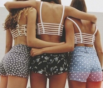 top girl girly girly wishlist crop crop tops cropped caged white friends summer