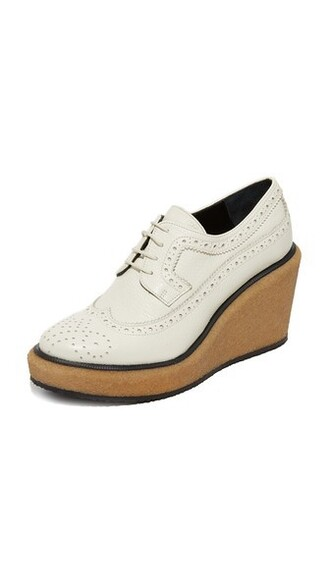 oxfords white shoes