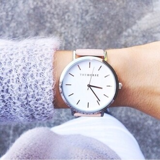 jewels the horse watch minimalist jewelry silver