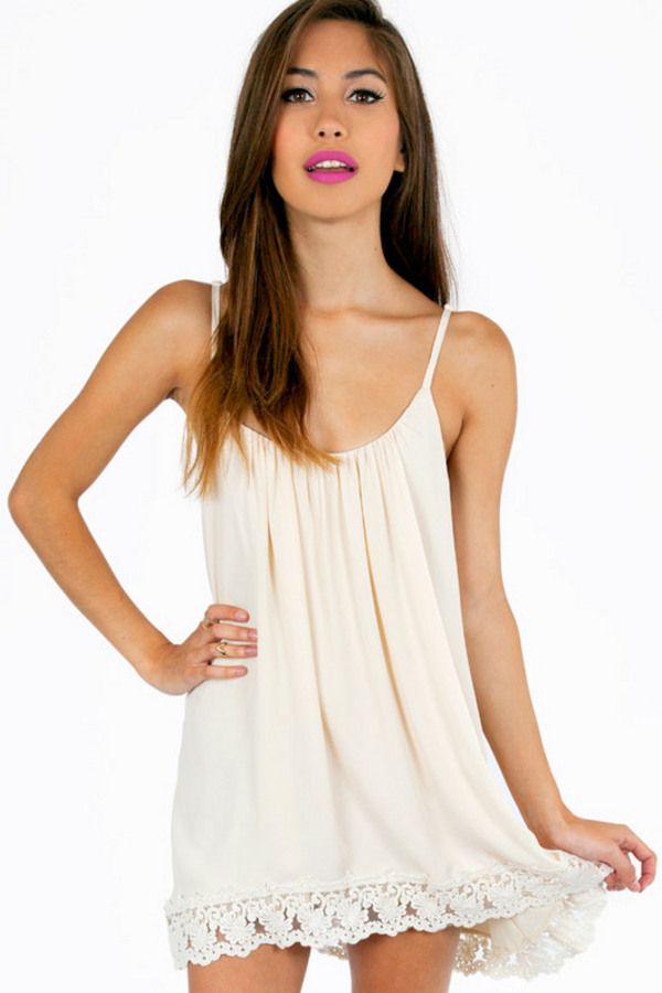 Nidia Cami Shift Dress - Tobi