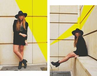 fringe and frange blogger hat boho dress