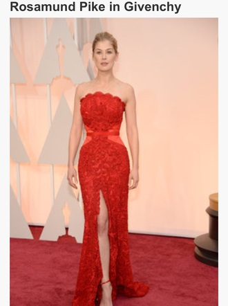 dress red dress formal dress fashion passions for fashion actress trendy rich fashion givenchy oscars 2015