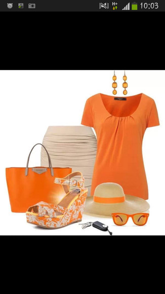 shoes wedges orange wedges cute wedges