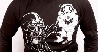 t-shirt shirt star wars darth vader