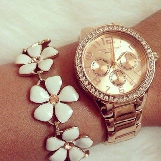 jewels leggings watch daisy bracelet bangle sparkles