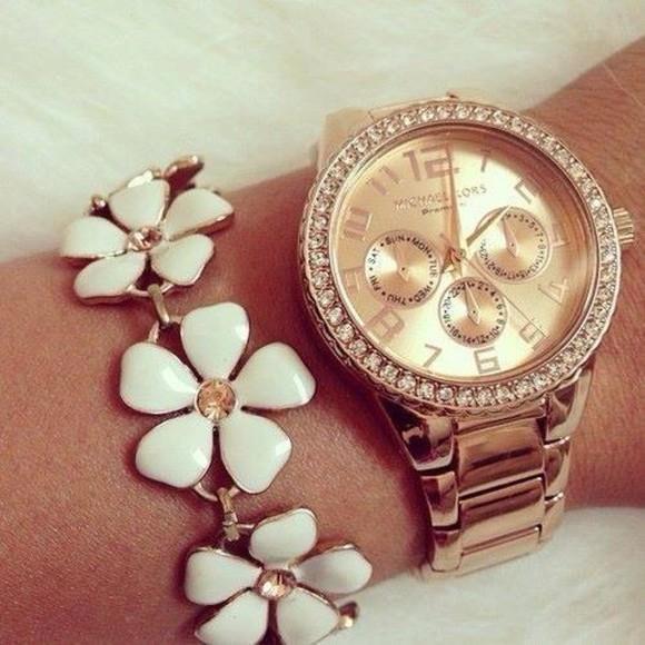 bangle leggings watch daisy bracelets sparkles jewels