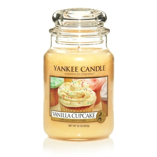 Vanilla Cupcake : Large Jar Candles : Yankee Candle