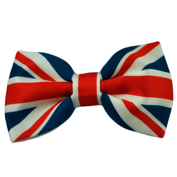 british union jack flag scarf bow bowtie tie