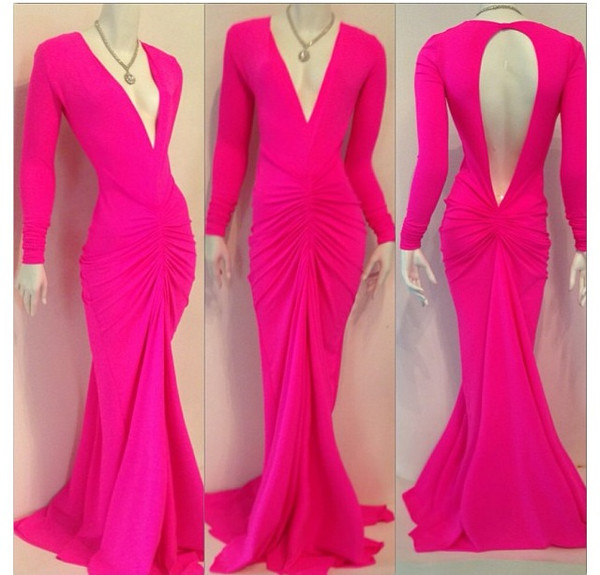 evening dress prom dress long sleeve evening dress open back evening dress party dress wedding party dress cocktail dress mermaid evening dress