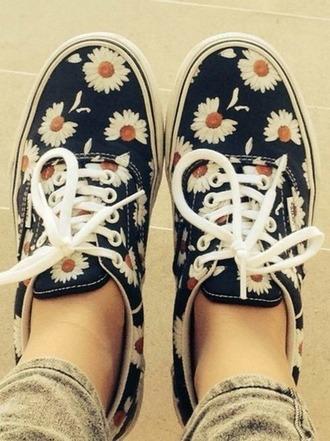shoes vans sneakers floral cool girl style 518710 vans sneakers kd spring