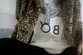 jacket,leopard print,winter coat,coat,hipster,hipster punk,punk,rock,black,top
