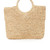 Hat Attack Small Round Handle Bag - Natural