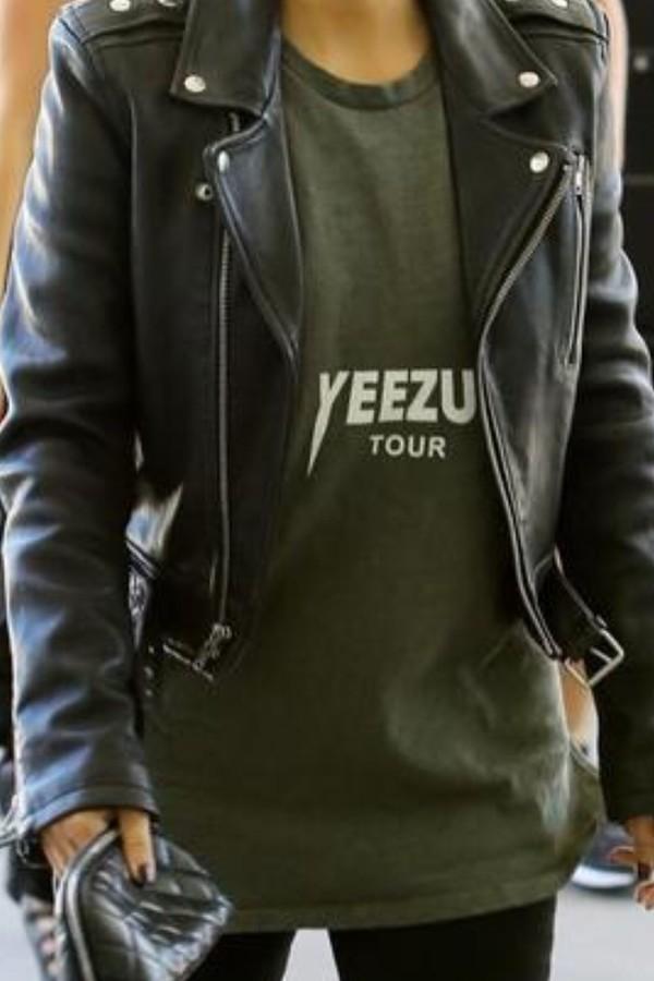t-shirt shirt yeezus jacket